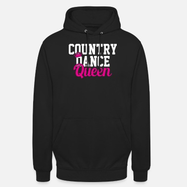 Country Reine de la danse country - Sweat à capuche unisexe