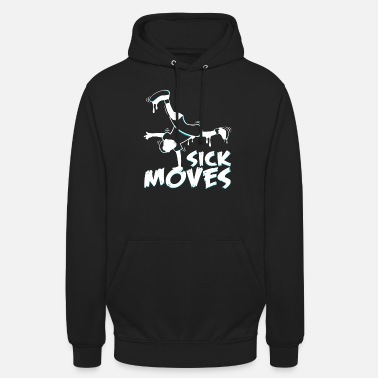Breakdance breakdancer - Unisex hettegenser