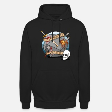 Guess I'll Die - DND D & D Dungeons and Dragons - Unisex Hoodie