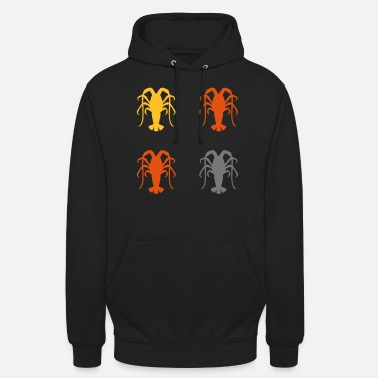 Lobster Lobster Lobster Cancer Crabs Crab Ocean Sea - Unisex Hoodie