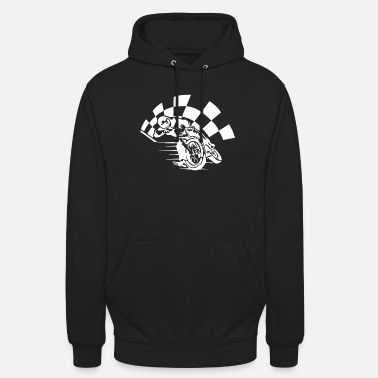 Racing Motorcycle Motorcycle racing - Unisex Hoodie