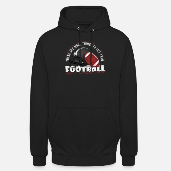 Gift Idea Hoodies & Sweatshirts - Football Gift Idea Gift Idea Sport Game - Unisex Hoodie black