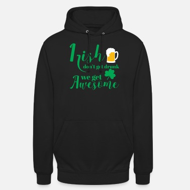 Funny St Patricks Day - Irish - Beer - Funny - Gift - Unisex Hoodie