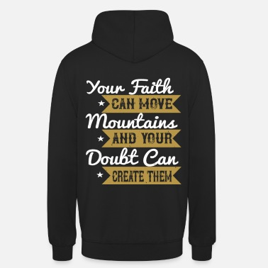 Youth Service Christian saying - Gift for Christians - Unisex Hoodie