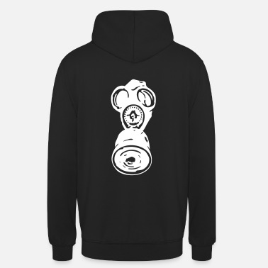 Gas Mask Gas mask - Unisex Hoodie