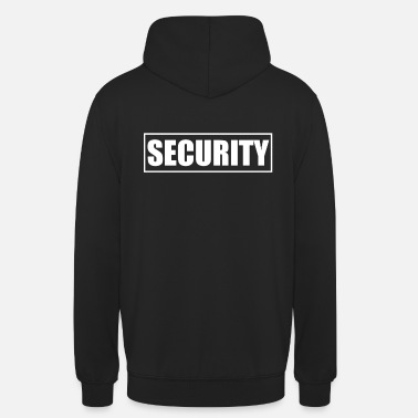 Security Service Security security service security service bouncer - Unisex Hoodie