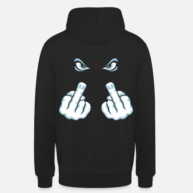 Finger Finger (Fuck Off / Fuck You) - Hoodie unisex