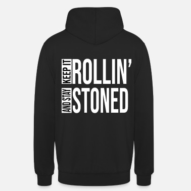 Bouger Rollin' Stoned 19 - Sweat à capuche unisexe