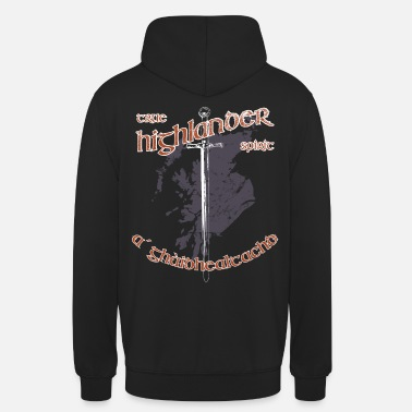 Scotland Highlander Shirt true spirit - Unisex Hoodie