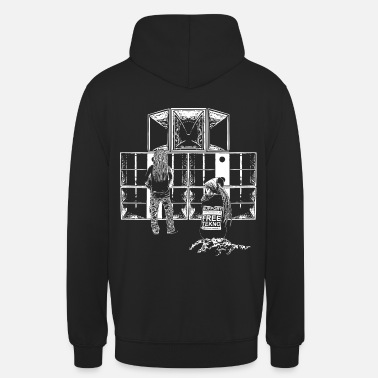 Free Support Free Tekno sound system - Unisex Hoodie