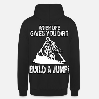 Bike Dirt Jump Bike Motocross MX Supercross - Unisex hættetrøje