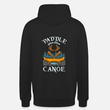 Water Sports Canoe paddling water sports - Unisex Hoodie