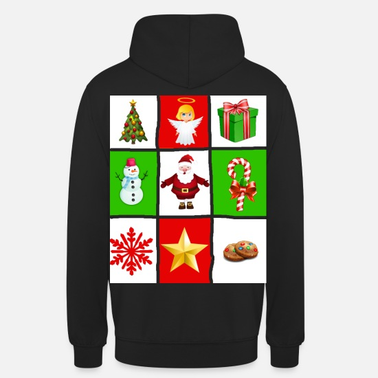 Christmas Hoodies & Sweatshirts - Ugly Christmas - Unisex Hoodie black
