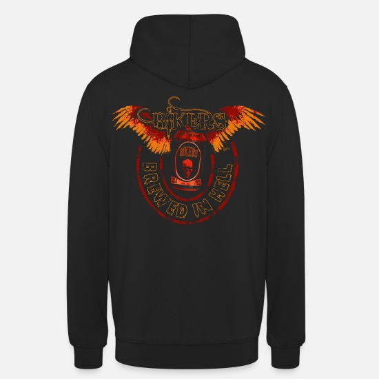 Motorcycle Hoodies & Sweatshirts - Can 2 - Unisex Hoodie black