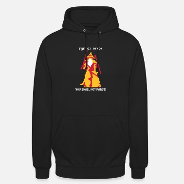 Pixel You shall not pass - Sudadera con capucha unisex