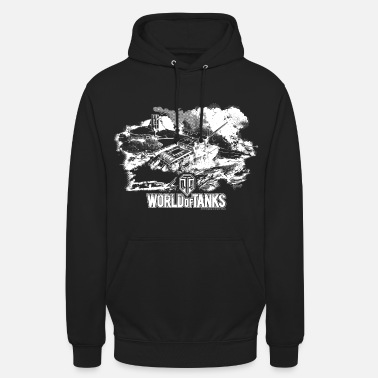World World of Tanks Battlefield Men Longsleeve - Bluza z kapturem unisex