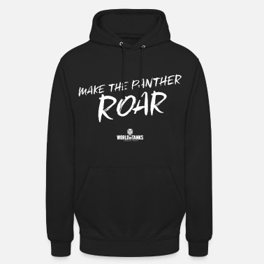World of Tanks Make The Panther Roar - Sudadera con capucha unisex