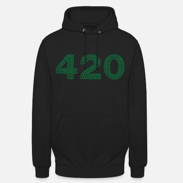 420 - Sweat à capuche unisexe