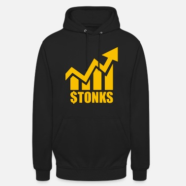 Borsa di Stonk Meme Yellow Money - Hoodie unisex