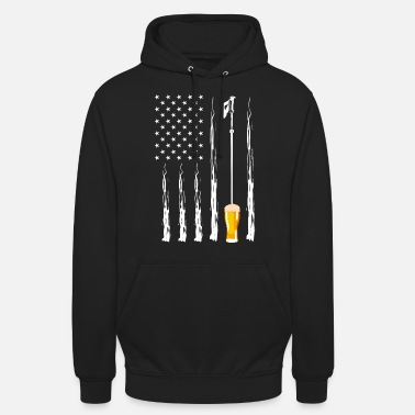 Party American Flag Shirt For Alcoholic Drunkard You - Unisex Hoodie