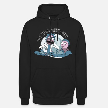 Morty Rick and Morty You F**ked With Squirels - Unisex Hoodie