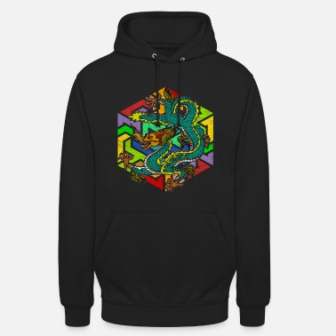Mythologie Dragon mythologique - Sweat à capuche unisexe