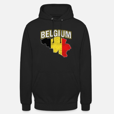 National Colours Belgium Nation Nationality - Unisex Hoodie