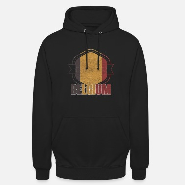 National Colours Belgium national colors nation - Unisex Hoodie