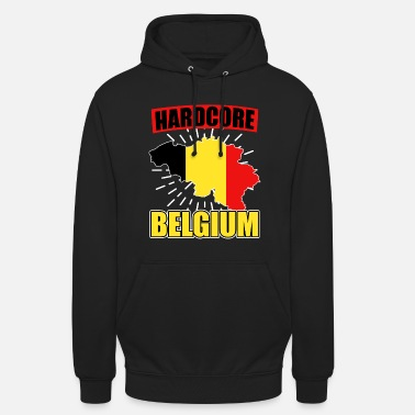 National Colours Belgium nationality national colors - Unisex Hoodie