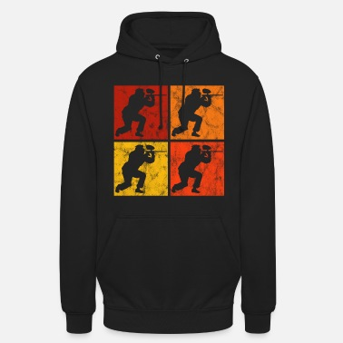 Love You Gotcha Airsoft Paintball Softair Retro Paintballer - Unisex Hoodie