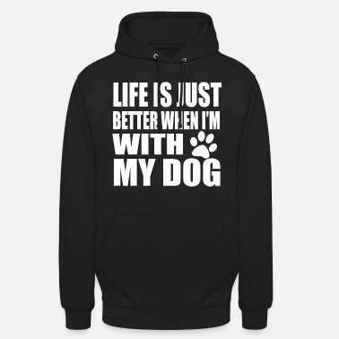 Dogs Saying Say Dogs Dog Sayings Dogs paw - Unisex Hoodie