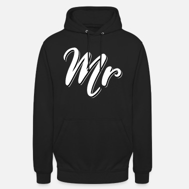 Mr Mr and Mrs, Mister and Misses Geschenkidee Paare - Unisex Hoodie