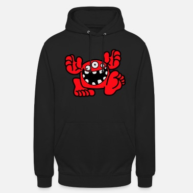 Proud To Be A Monster Cartoon by Cheerful Madness! - Unisex Hoodie