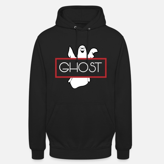 Witching Hour Hoodies & Sweatshirts - Halloween Ghost Ghost Ghost - Unisex Hoodie black