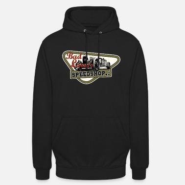 Qualität Bad Larry`s Speedshop Nr1 white Print - Unisex Hoodie
