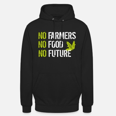 Land No Farmers No Food No Future - Unisex Hoodie