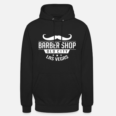 Vegas Barber Shop Old City Las Vegas - Unisex Hoodie