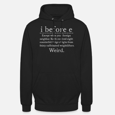 English English teacher teacher, English teacher, English - Unisex Hoodie