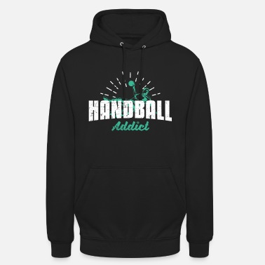 Sport Addict Sports addict au handball - Sweat à capuche unisexe