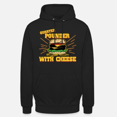 Fiction quarter pounder fiction Burger - Unisex Hoodie