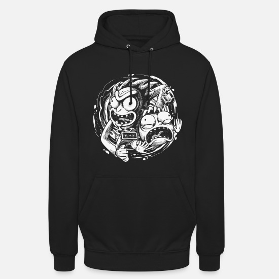 Film Pullover & Hoodies - Rick And Morty Reisen In Andere Dimensionen - Unisex Hoodie Schwarz
