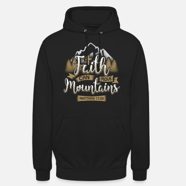 Can Faith can move mountains - EN - Unisex Hoodie