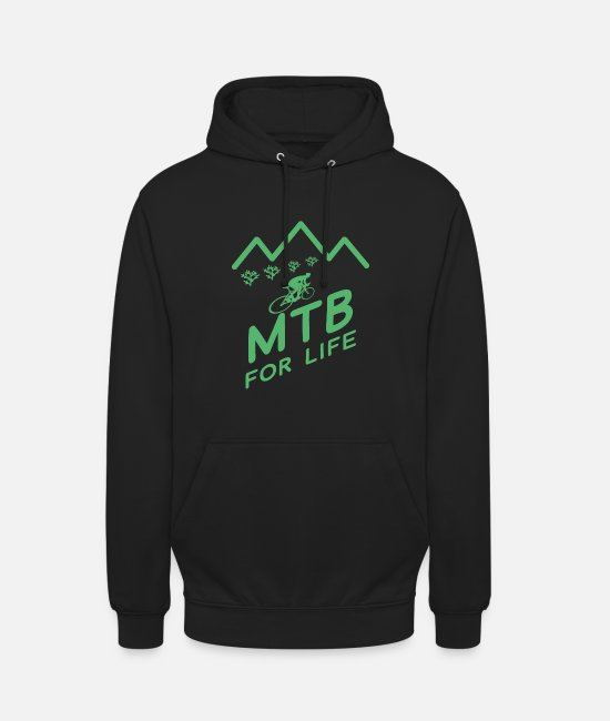 Mountain Hoodies & Sweatshirts - Bike Mountain Bike MTB Mountain Bike Mountain Bike - Unisex Hoodie black