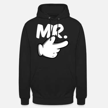 Mr Mr. & Mrs. Comic-Hand Partnerlook - Unisex Hoodie