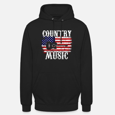 Country Country Musik Western Rodeo USA - Unisex Hoodie