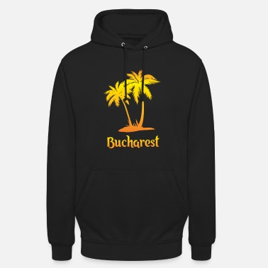 Vacation Bucharest dream vacation with sun - Unisex Hoodie