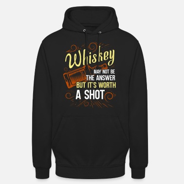 Bourbon Whiskey Whisky Scotch Single Malt Bourbon Geschenk - Unisex Hoodie