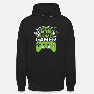 Retrogaming Stay at home GAMER Video Games Game Gaming - Unisex Hoodie