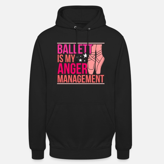 Danser Sweat-shirts - ballet - Sweat à capuche unisexe noir