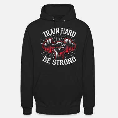 Workout Fitness Workout Hantel - Unisex Hoodie